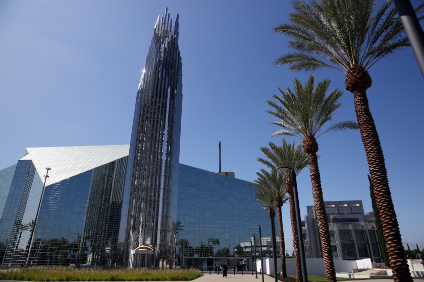 Christ Cathedral in Orange County