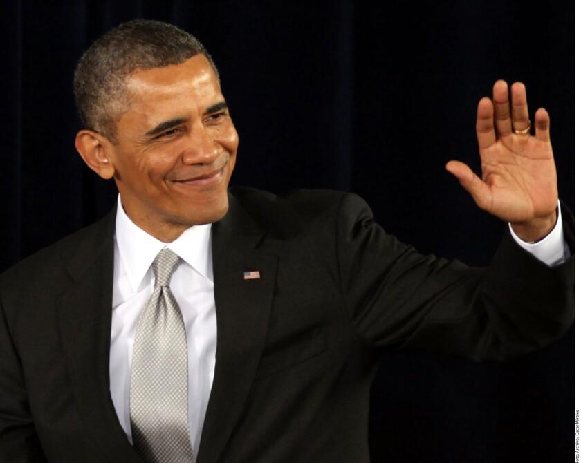 Barack Obama será el invitado del nuevo programa de David Letterman, que se estrenará este 12 de enero en Netflix, publicó Variety.