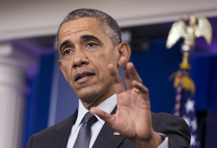 President Obama speaks Tuesday about new rules aimed at deterring tax inversions.