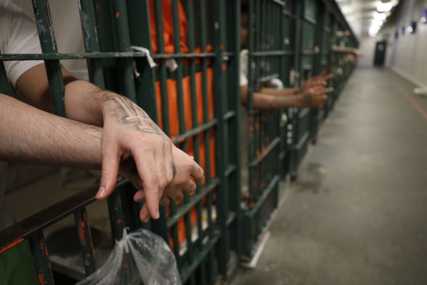 Some L.A. County jail inmates said they don't have adequate cleaning supplies to keep themselves safe.