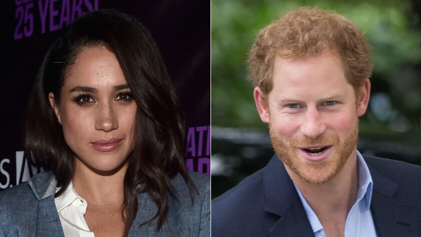 The relationship between Meghan Markle and Prince Harry was confirmed by Kensington Palace last year following a media firestorm.