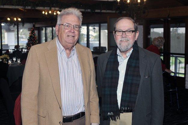 Museum curator and board member Jim Nelson, Robert Garland