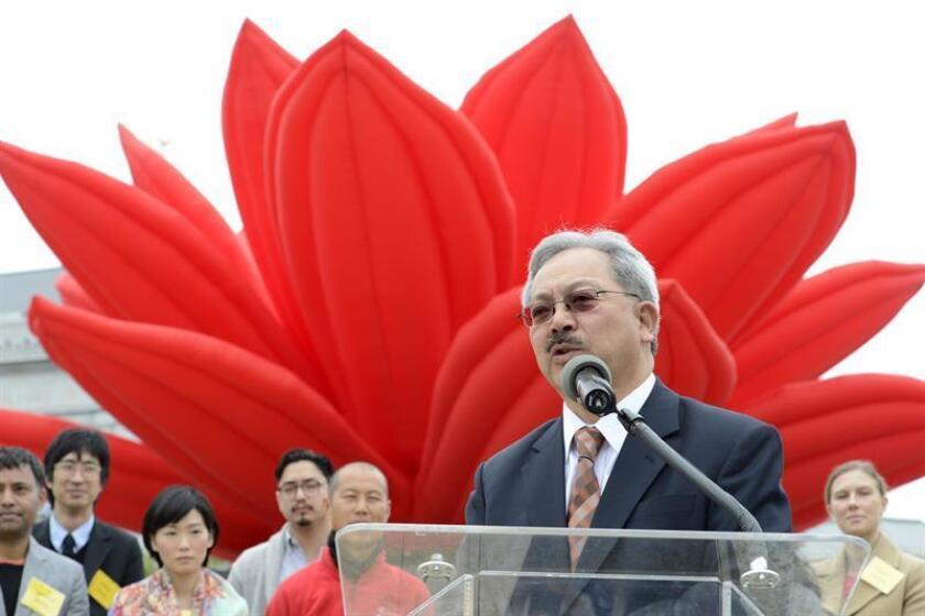 El alcalde de San Francisco Ed Lee. EFE/ARCHIVO
