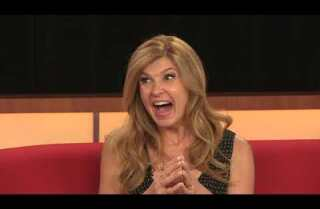 What show would Connie Britton want to watch someone else enjoy for the first time?