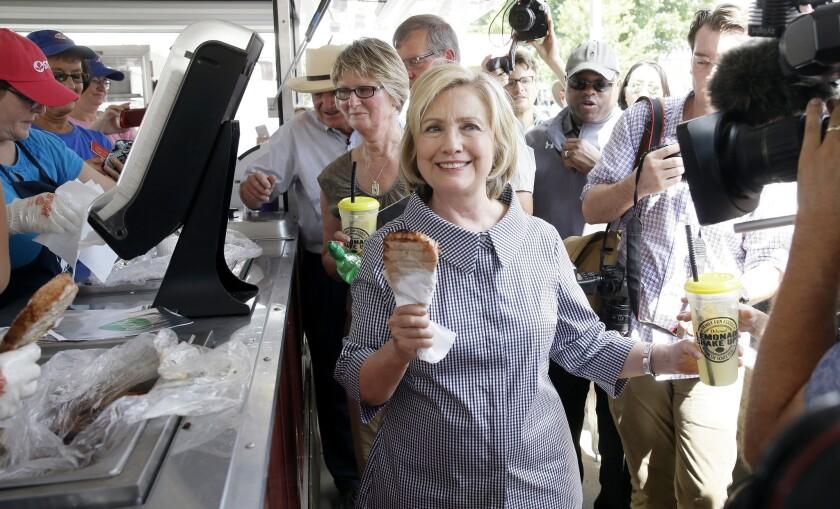 Hillary Clinton at Iowa State Fair