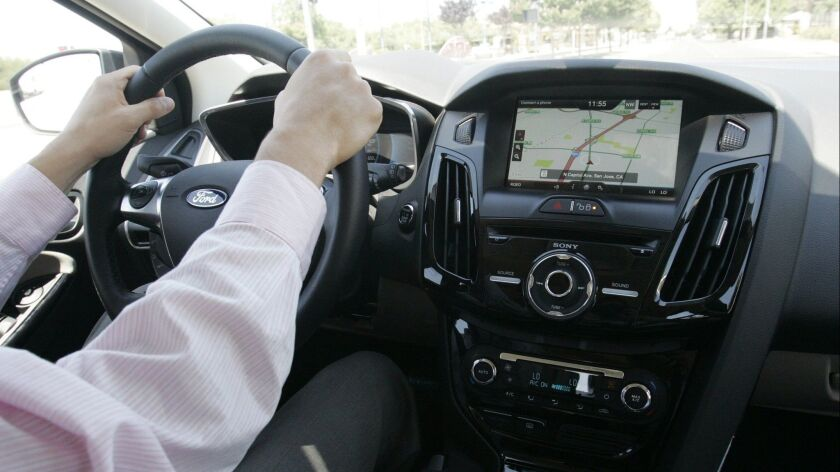 electric car test drive