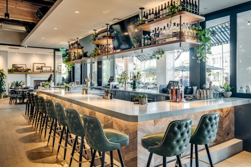 Trust us: The bar at The Henry hasn't been this empty since this photo shoot.