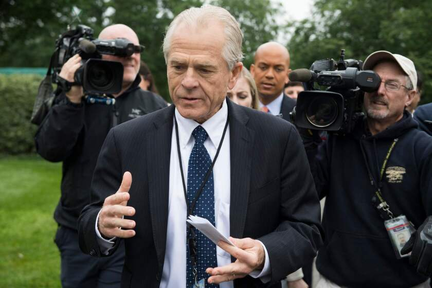 Trump trade advisor Peter Navarro