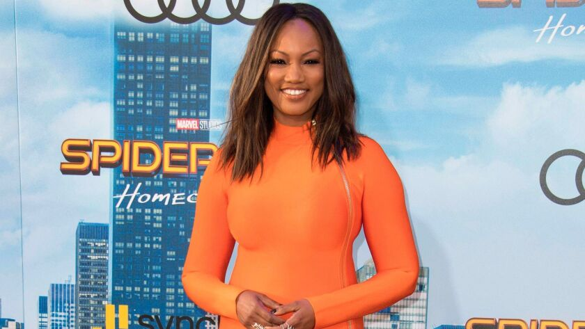 """Actress Garcelle Beauvais at the Los Angeles premiere of """"Spider-man: Homecoming."""""""