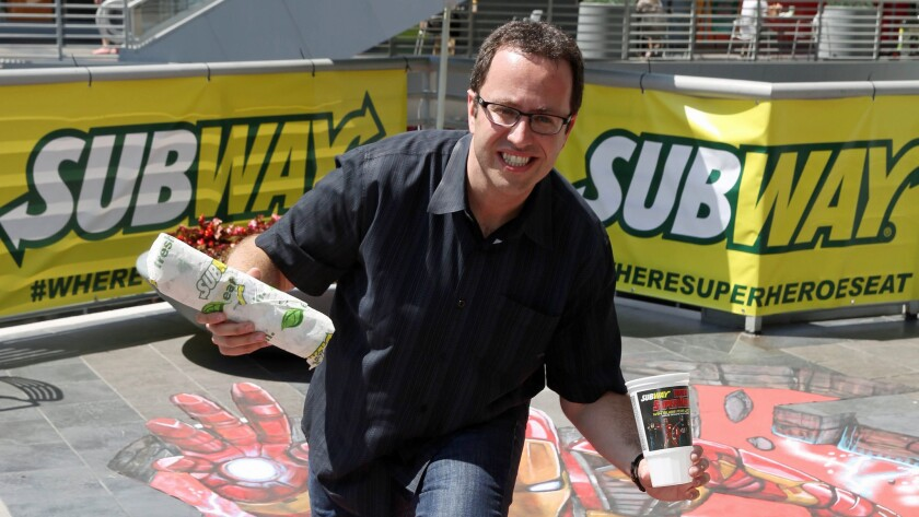 Subway pitchman Jared Fogle faces at least five years in prison in a case involving child pornography and engaging in sex acts with minors.