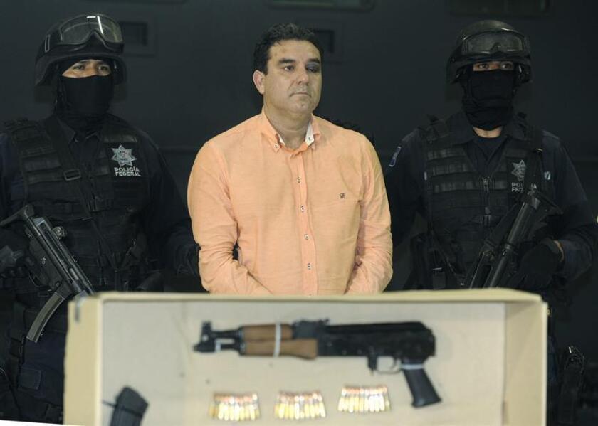 El mexicano Manuel Fernández Valencia, vinculado a dos de los principales carteles de narcotraficantes de su país, fue sentenciado hoy en Chicago a 27 años de prisión federal por el transporte de toneladas de cocaína a Estados Unidos. EFE/ARCHIVO