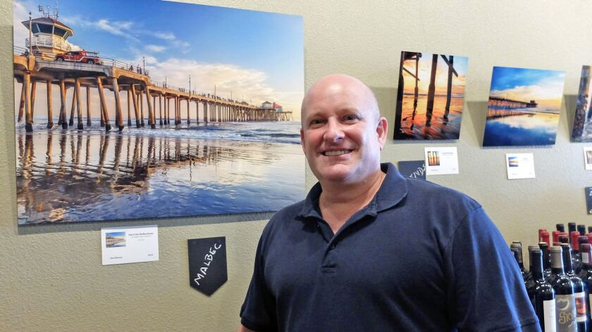 Costa Mesa photographer and business consultant Don Murray shows off coastal Orange County all with