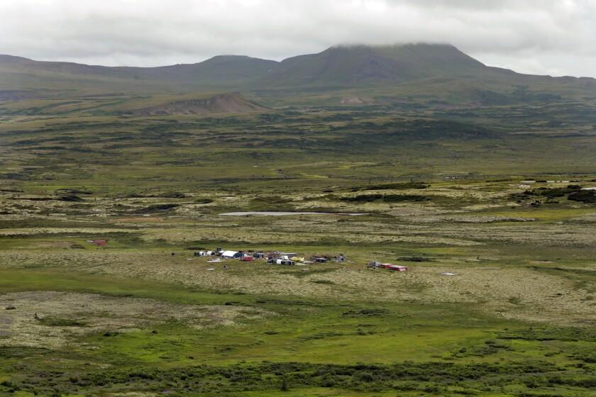 Proposed Pebble mine site in Alaska