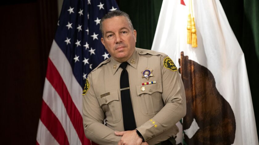 L.A. County Sheriff Alex Villanueva's promise to kick ICE agents out of the jails was central to his campaign to unseat former Sheriff Jim McDonnell last fall.