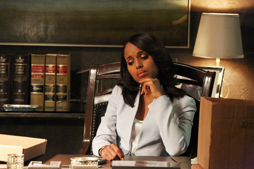 Kerry Washington in ABC's 'Scandal'