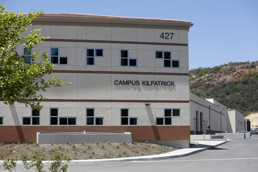 Los Angeles County Probation Department Campus Kilpatrick in Malibu in 2017.