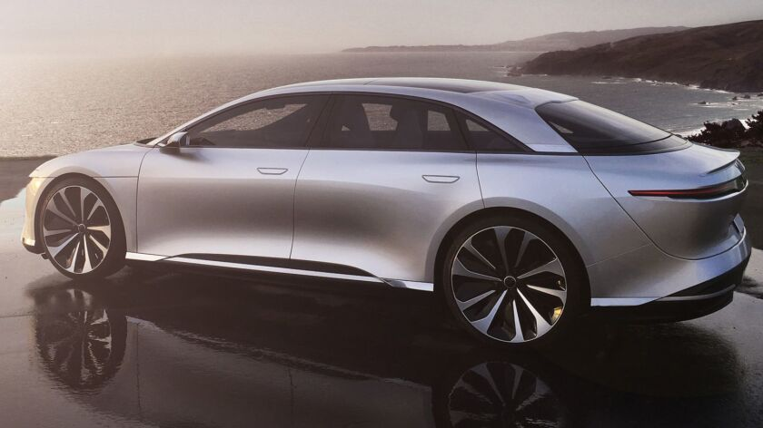 Lucid Motors unveiled a production version of its first electric vehicle, the Lucid Air, in 2016. Saudi Arabia's sovereign wealth fund says its investment will take the company through to the car's commercial launch in 2020.