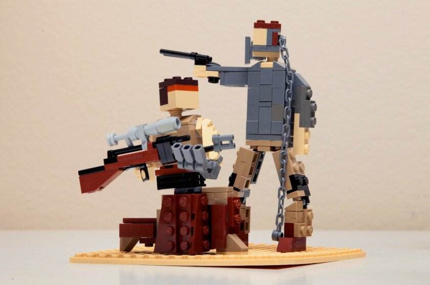 """Klaus Neyer's Lego tribute to Best Picture nominee """"Mad Max: Fury Road."""""""