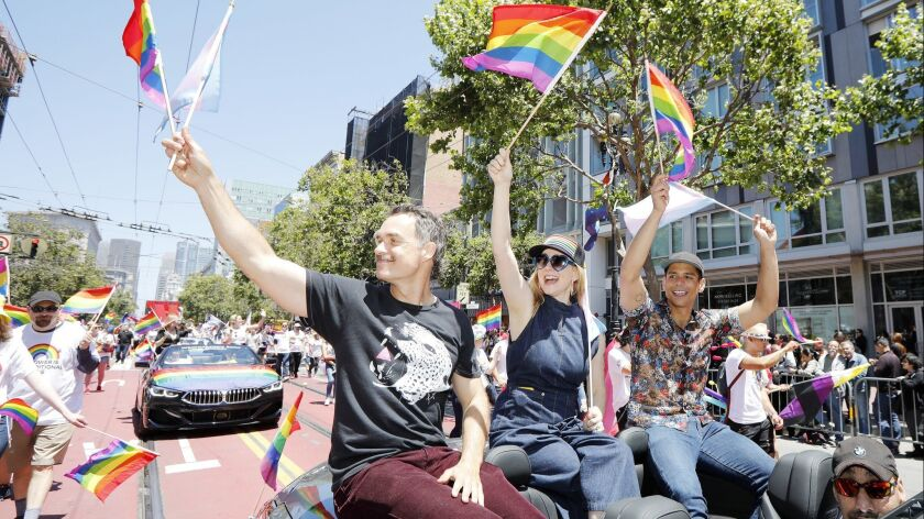 """Tales of the City"" Cast Grand Marshall the San Francisco Pride Parade"