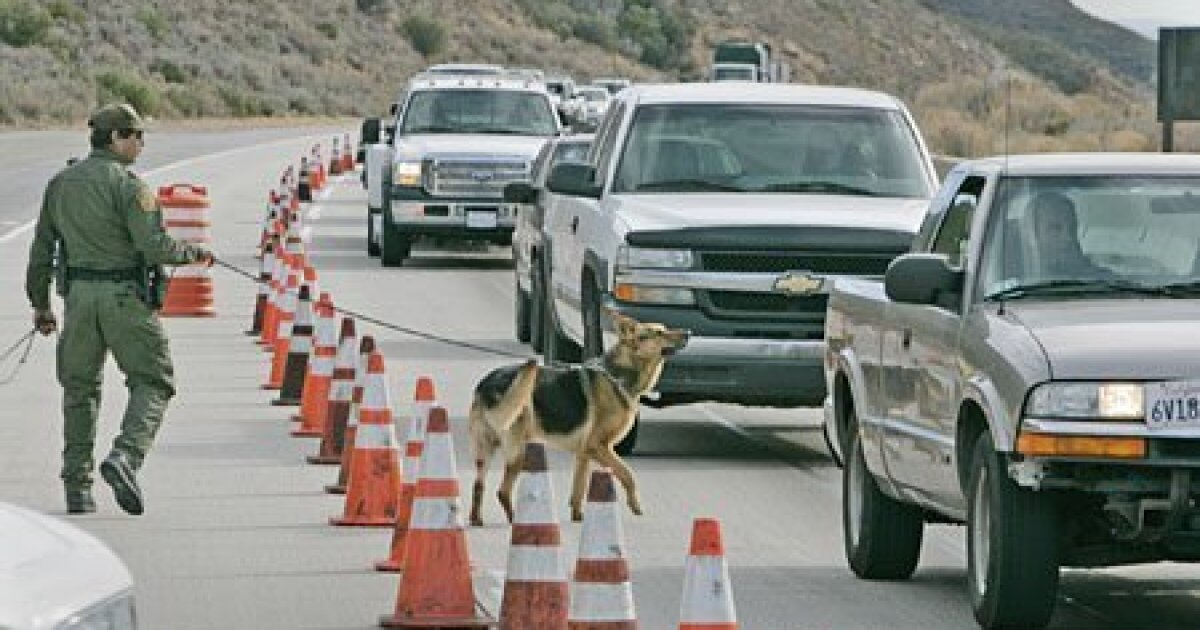 Border Patrol checkpoints are a risky reality for California cannabis companies