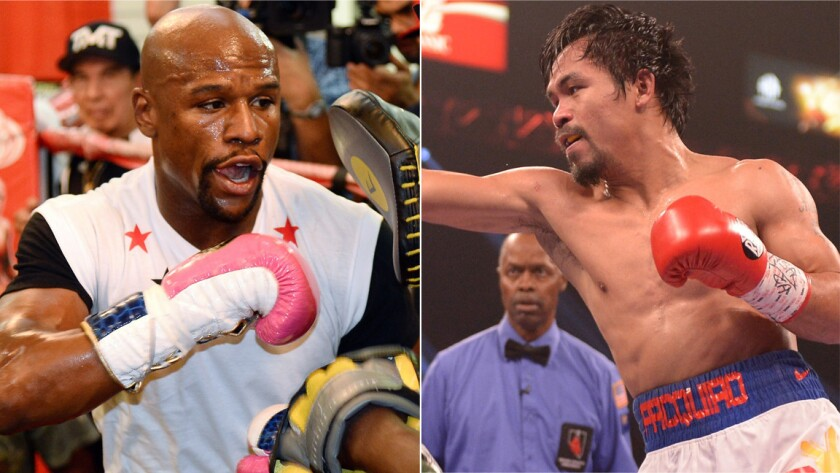 Floyd Mayweather Jr's father is confident his son would easily prevail over Manny Pacquiao if the two were to ever meet in the ring.