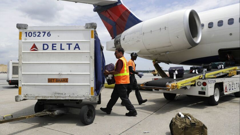 Delta Air Lines raised its fees for checking luggage to $30 for the first bag and $40 for the second.