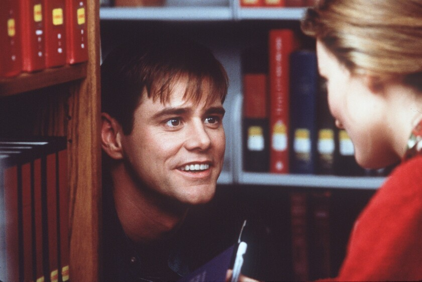 """Jim Carrey in a scene from """"The Truman Show,"""" which Paramount Television is re-imagining for TV."""