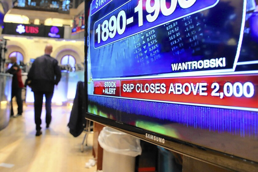 S&P 500 index reaches a new record