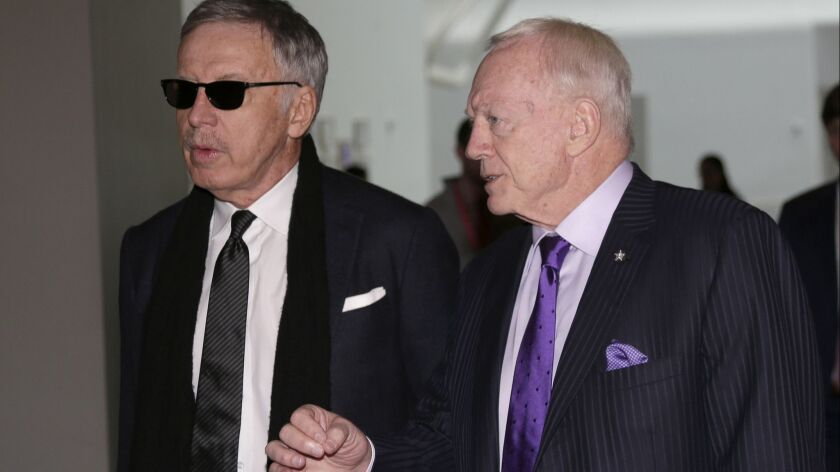 Stan Kroenke, Jerry Jones