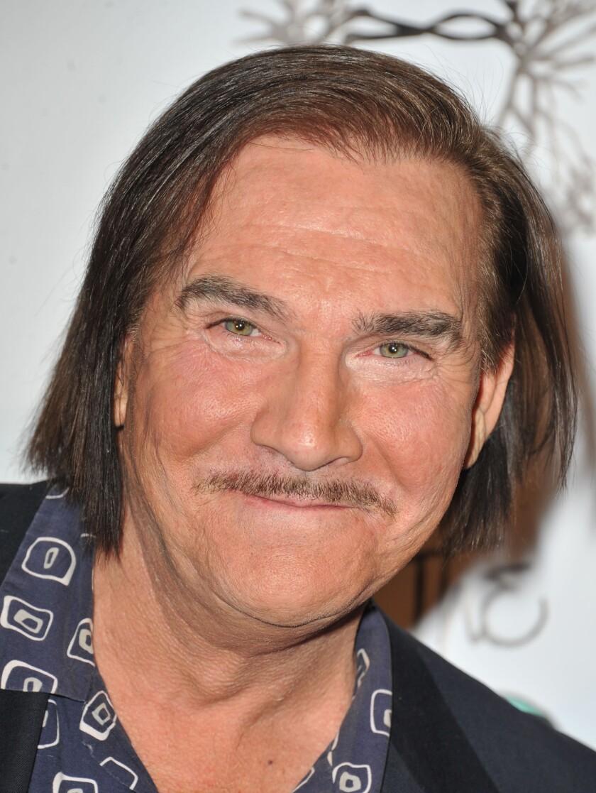 A closeup of actor John Paragon