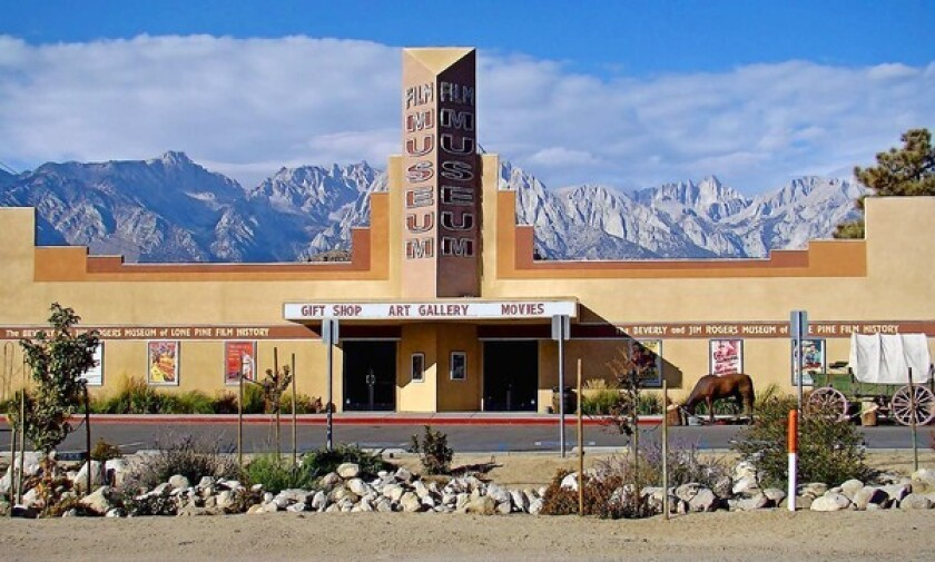 The Lone Pine Film History Museum features a treasure trove of cinematic artifacts and movie-related exhibitions.
