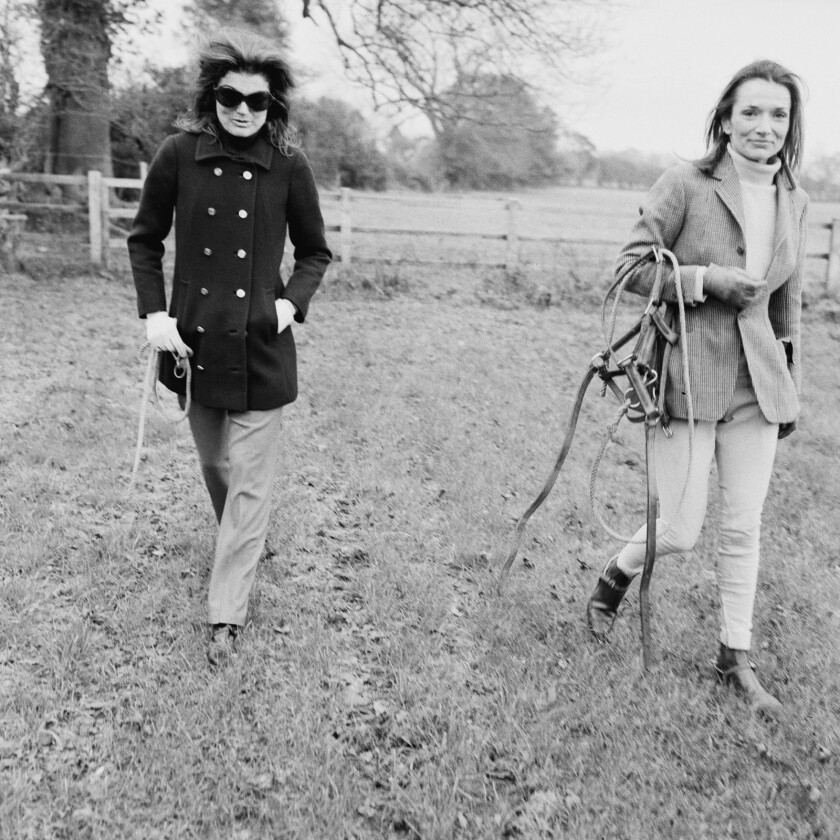 Lee Radziwill, society grande dame and sister of Jacqueline