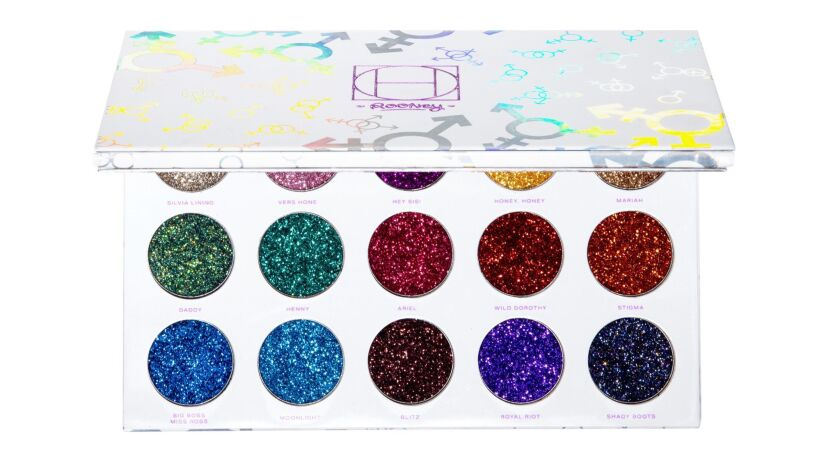 Los Angeles beauty brand HipDot launched its Limited Edition Legendary Pressed Glitter Palette, comp