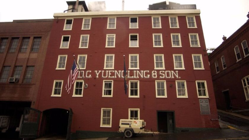 The Yuengling brewery in Pottsville, Pa.