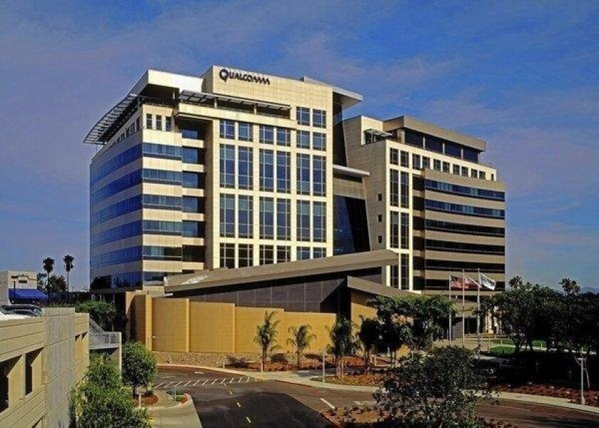 Qualcomm Inc. headquarters in San Diego.