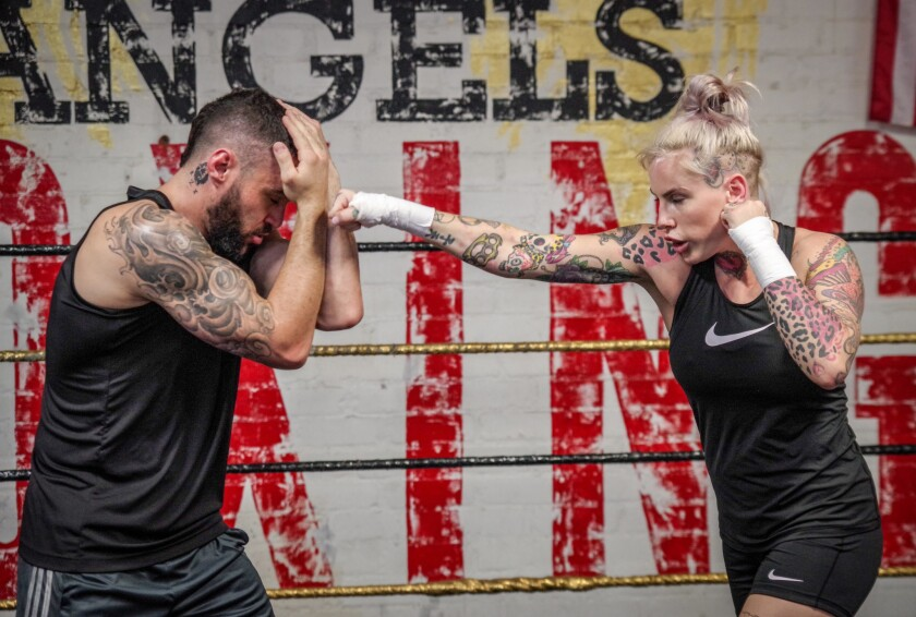Bec Rawlings - Bare Knuckle Fighting Championship - BKFC