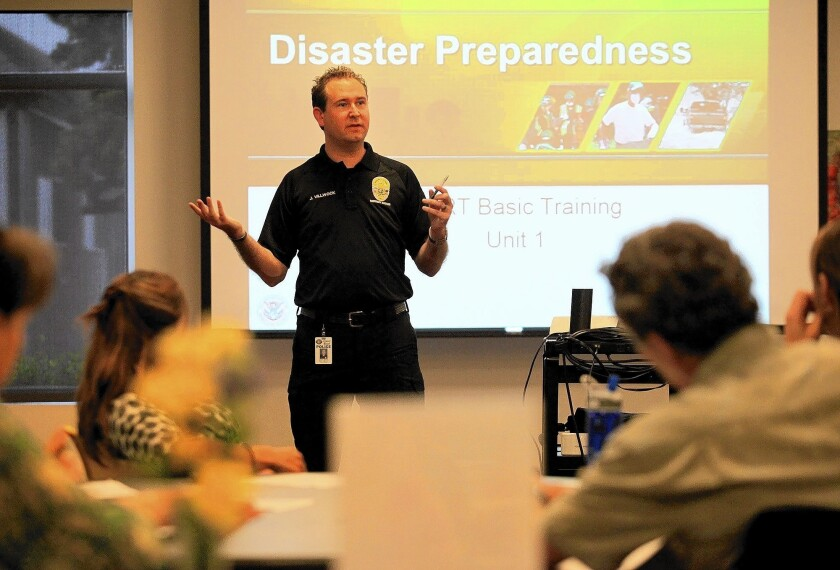 CERT means many hands during disasters - Los Angeles Times
