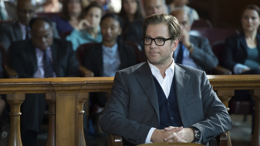 """Michael Weatherley stars as a brilliant but troubled trial consultant in the new CBS legal drama """"Bull."""""""
