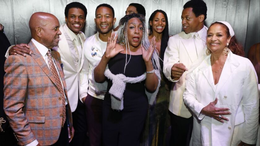 """""""Ain't Too Proud—The Life and Times of The Temptations"""" Center Theatre Group/Ahmanson Theatre Opening"""