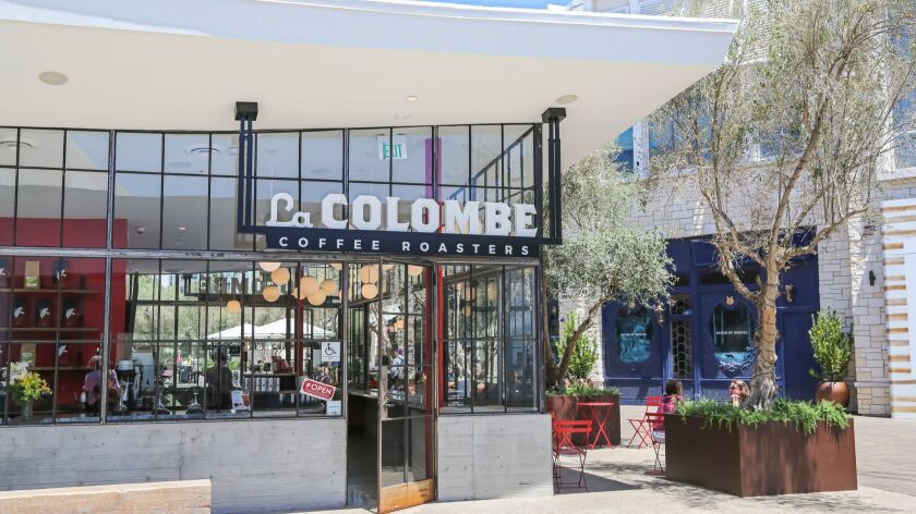 SAN DIEGO, CA June 28th, 2018 | This is La Colombe coffee shop at the Westfield UTC Mall on Thursday