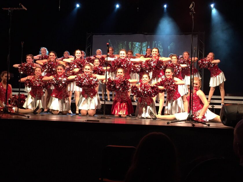 Carlsbad High School's Encore performs. The district plans to update the Carlsbad High cultural arts center.