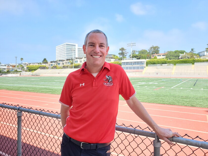 Aaron Quesnell is the newly appointed athletic director at La Jolla High School.