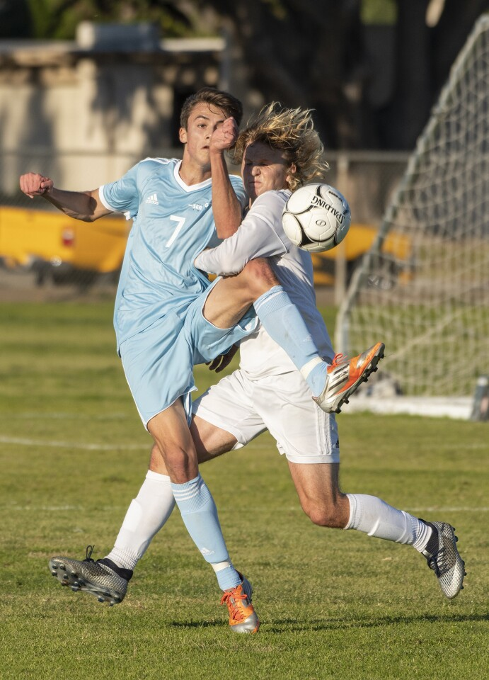 Photo Gallery: Fountain Valley vs. Corona del Mar in boys' soccer