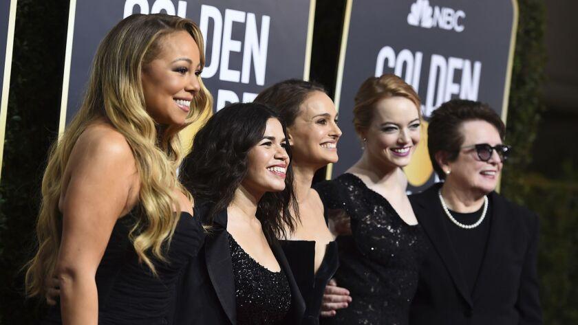 Mariah Carey, America Ferrera, Natalie Portman, Emma Stone, Billie Jean King