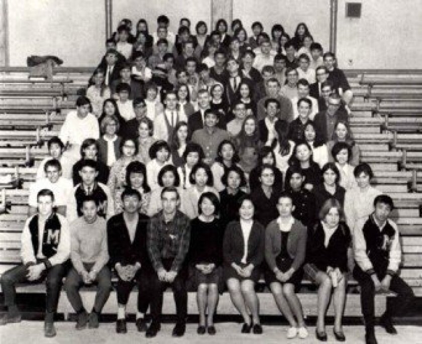 ASIJ Class of '68 class photo. Courtesy photo