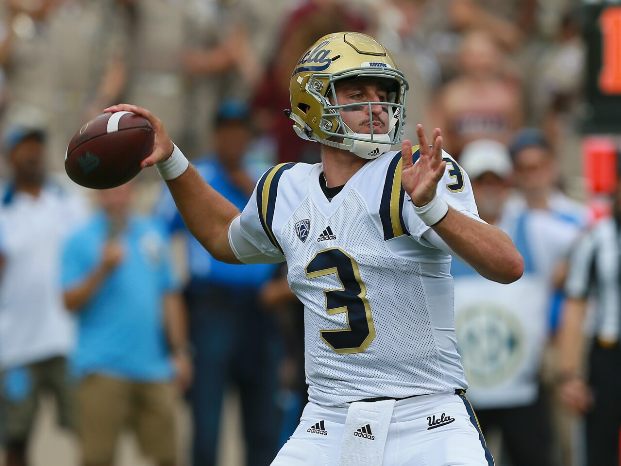 UCLA's Josh Rosen looks in the mirror and takes responsibility in loss to Texas A&M