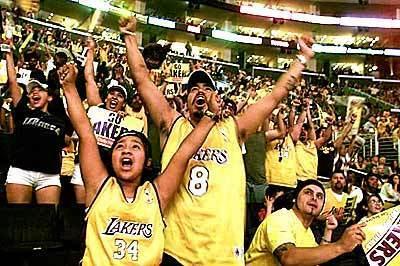 Staples Center broadcast