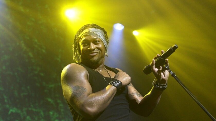 D'Angelo performs at Club Nokia on June 8, 2015. Read the review.