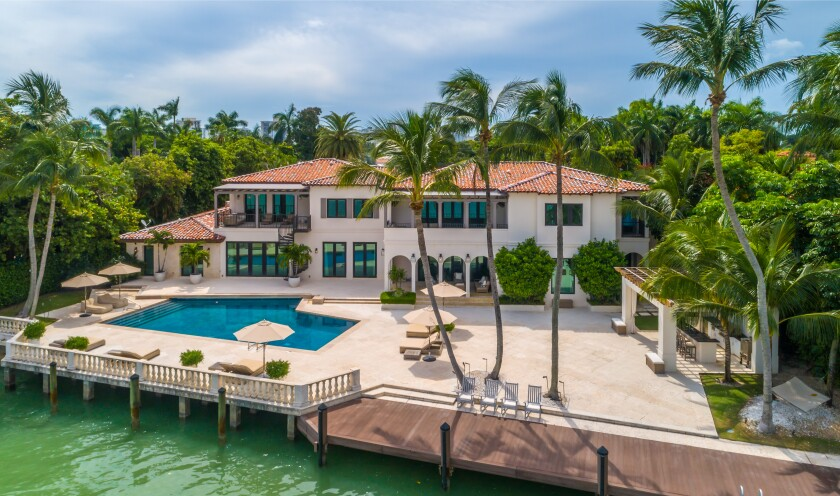 Dwyane Wade's Miami Beach mansion