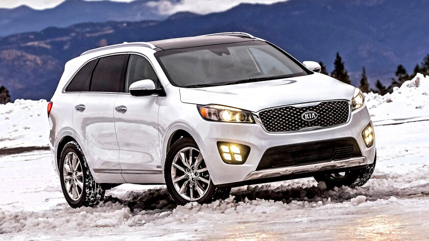 The new Sorento is an appealing ride. The extra length is well-deployed, especially in the middle seats, where full-size adults will fit comfortably.